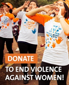Donate to end violence against women