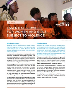 Global Essential Services brief coverpage