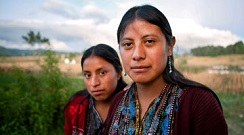 Rural women in Guatemala