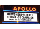 Press Release: Calling on global citizens, UN Women unveils Beijing+20 campaign in New York City