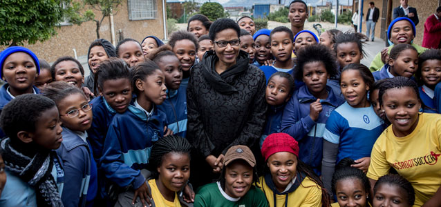 Coverage: Executive Director visits South Africa