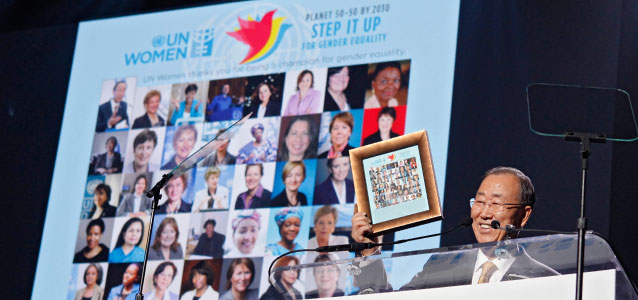 Press release: Galvanizing global attention, world leaders, celebrities and activists unveil Planet 50-50 by 2030: Step It Up for Gender Equality
