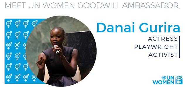 Press release: UN Women announces Danai Gurira as Goodwill Ambassador