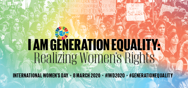 I am Generation Equality: Realizing Women's rights