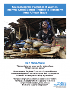 Fact Sheet Women Informal Cross Border Traders Africa
