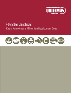 Gender Justice Key to Achieving the Millennium Development Goals