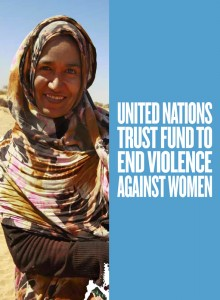 Brochure: United Nations Trust Fund to End Violence against Women – Together for a Better Tomorrow