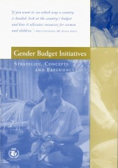 Gender Budget Initiatives: Strategies, Concepts and Experiences