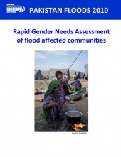 Pakistan Floods 2010 – Rapid Gender Needs Assessment of Flood-Affected Communities