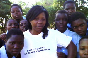 Q&A about the efforts of Kumbukani Mwanyongo to confront child marriage in Malawi