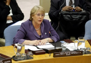 UN Women Executive Director Michelle Bachelet Addresses Security Council Open Debate on Landmark Resolution 1325