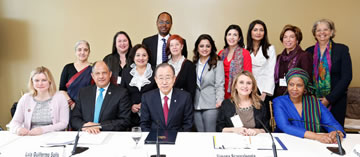 UN Secretary-General's High-Level Panel on Women's Economic Empowerment. Photo: UN Women/Ryan Brown.