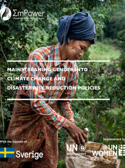 Mainstreaming Gender into Climate Change