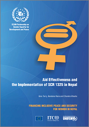 Aid Effectiveness and the Implementation of SCR 1325 in Nepal