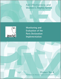AWID Primer: Monitoring and Evaluation of the Paris Declaration Implementation