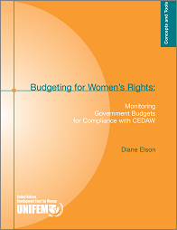 Budgeting for Women's Rights: Monitoring Government Budgets for Compliance with CEDAW