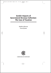 Gender Impacts of Government Revenue Collection: The Case of Taxation