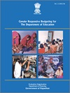 Gender Responsive Budgeting for the Department of Education in Rajasthan