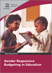 Gender Responsive Budgeting in Education