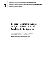 Gender-responsive budget analysis in the Canton of Basel-Stadt, Switzerland