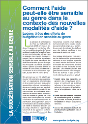 How Can Aid be Gender Responsive? (French)