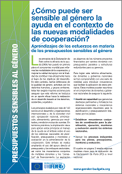How Can Aid be Gender Responsive? (Spanish)