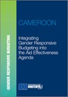Integrating gender responsive budgeting into the aid effectiveness agenda: Cameroon Report