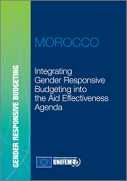 Integrating gender responsive budgeting into the aid effectiveness agenda-Morocco report