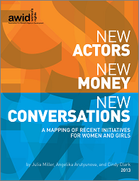 New Actors, New Money, New Conversations