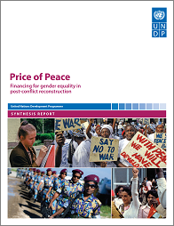Price of Peace: Financing for Gender Equality in Post Conflict Reconstruction