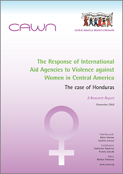 Response of Aid Agencies to VAW in Central America