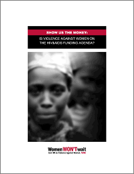 Show us the money is violence against women on the HIV&AIDS funding agenda?