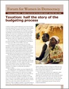 Taxation: Half the Story of the Budgeting Process