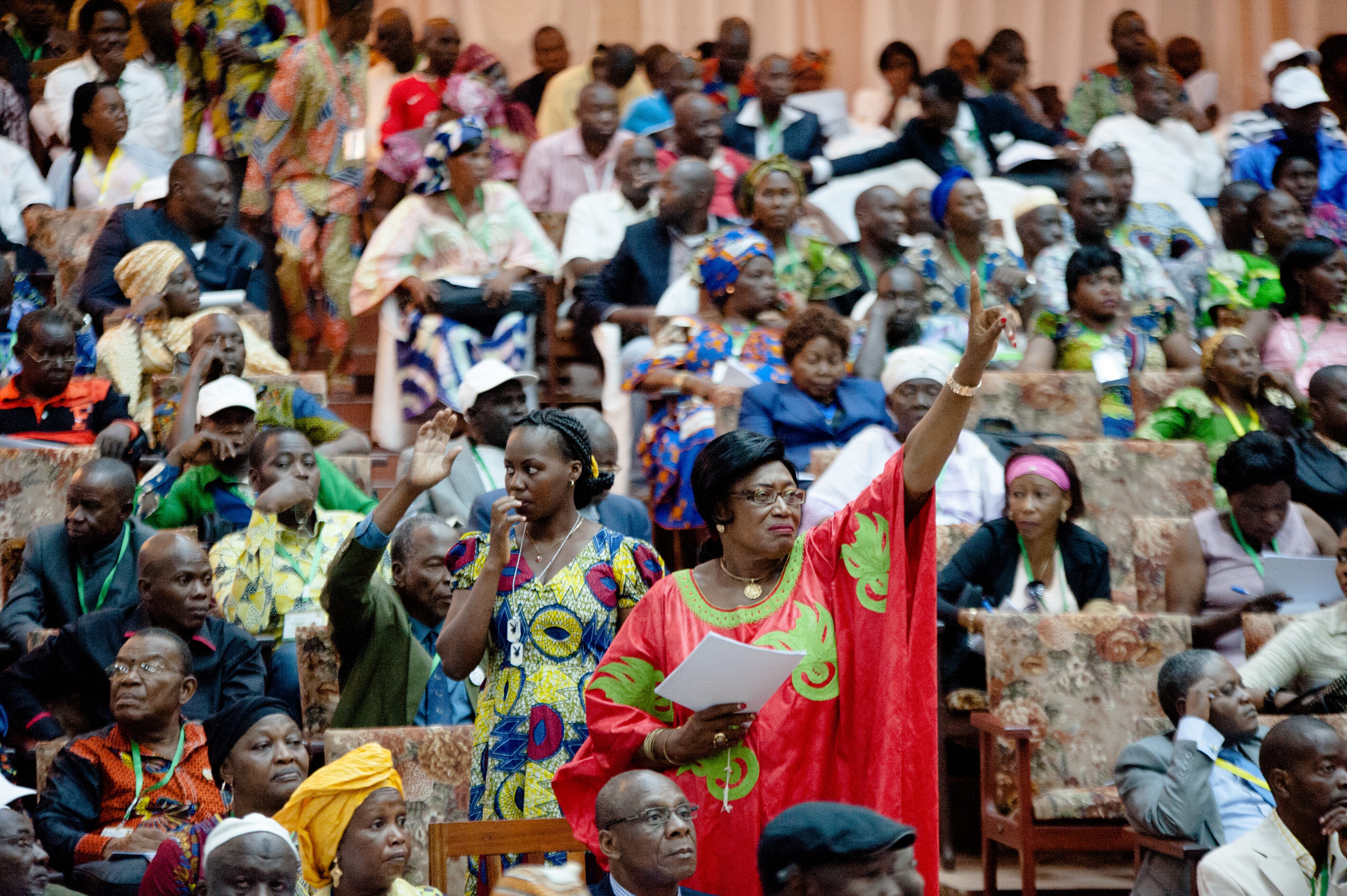 Turn words into action involving women for lasting peace