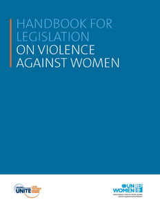 Handbook for Legislation on Violence against Women