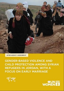 Gender-based violence and child protection among Syrian Refugees in Jordan