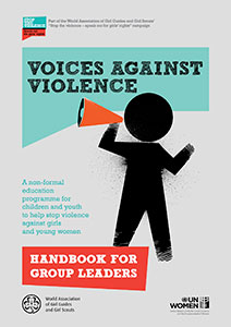 Voices against Violence curriculum cover page