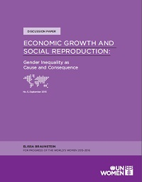 Economic Growth and Social Reproduction: Gender inequality as cause and consequence