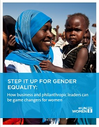Step it up for gender equality: How business and philanthropic leaders can be game changers for women