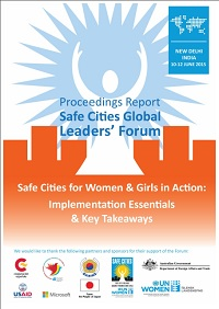 Proceedings Report UN Women's Safe Cities Global Leaders' Forum 2015