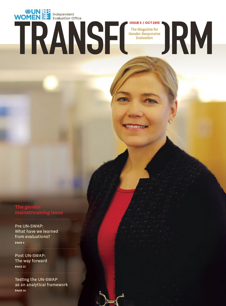 TRANSFORM – The magazine for gender-responsive evaluation – Issue 5, October 2015