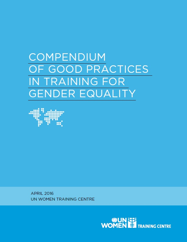 Compendium of Good Practices in Training for Gender Equality