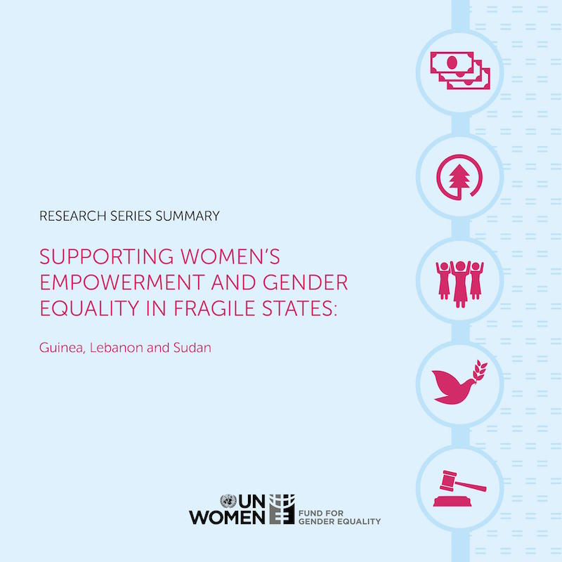 Supporting Women's Empowerment and Gender Equality in Fragile States: Guinea, Lebanon and Sudan — Research Series Summary