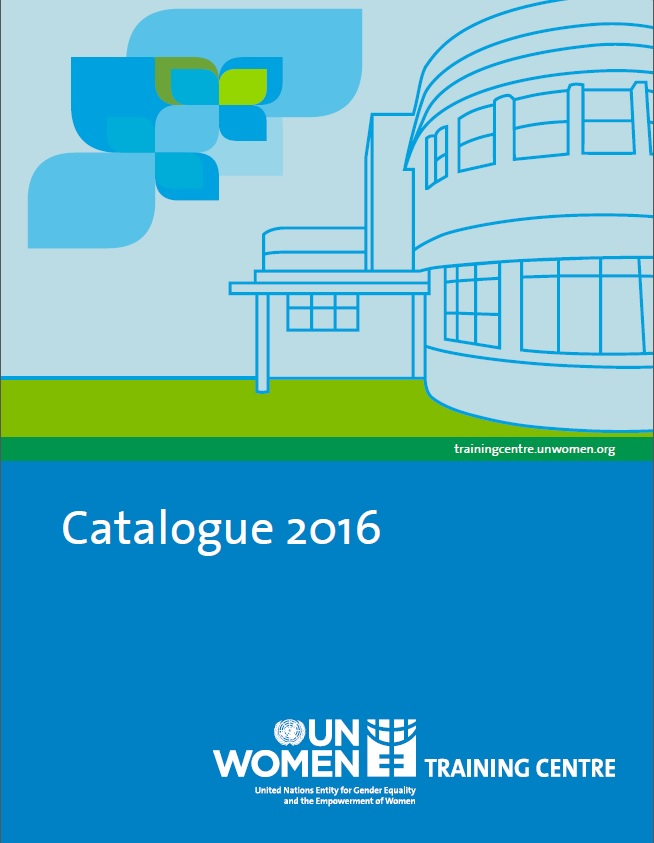 UN Women Training Centre 2016 Catalogue