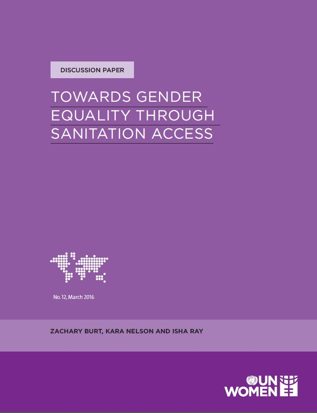 Towards gender equality through sanitation access