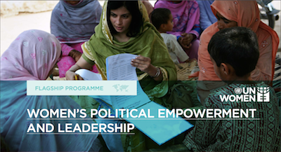 Women's political empowerment and leadership