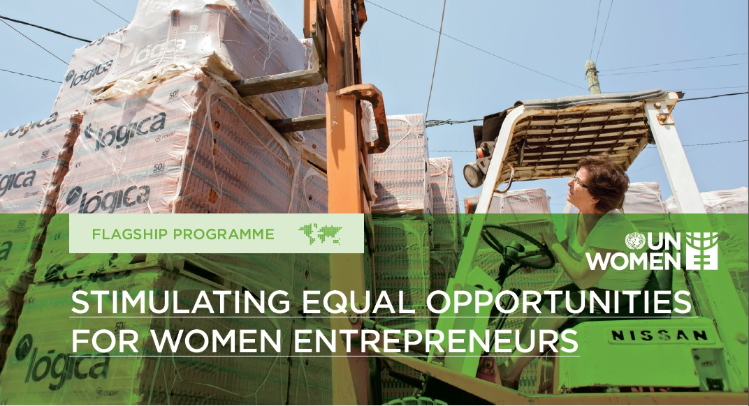 Stimulating equal opportunities for women entrepreneurs
