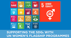 Supporting the SDGs with UN Women's flagship Programmes