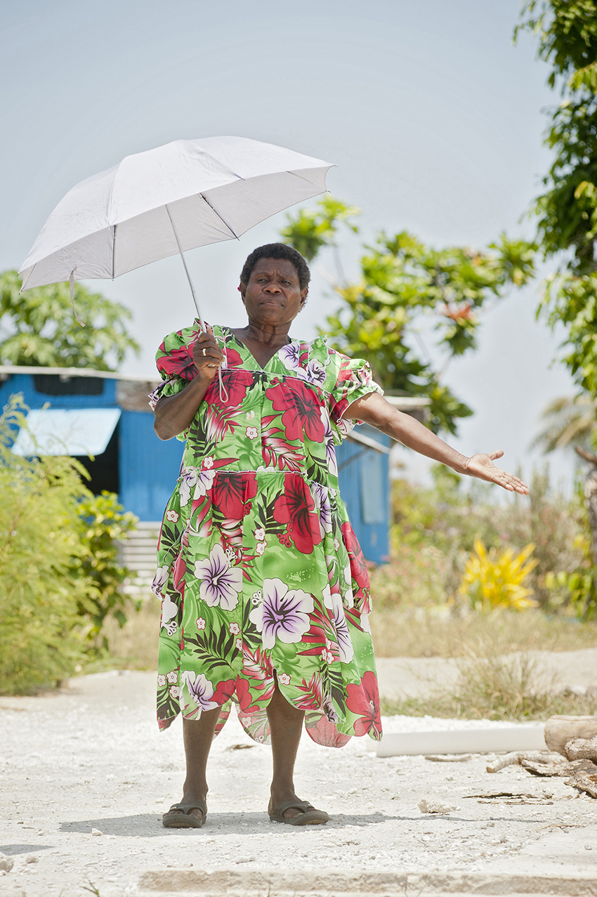 Photo essay: In Vanuatu, women tackle drought to restore livelihoods after Cyclone Pam