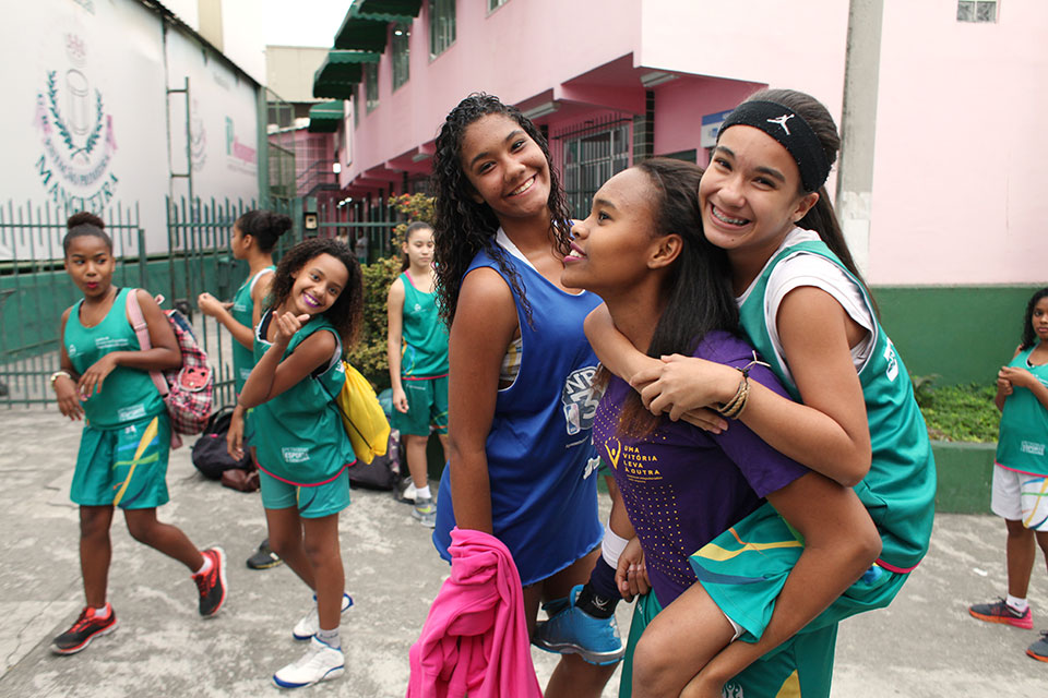 They range in age from 10 to 14 and come from different neighbourhoods, schools and backgrounds. Playing together, they have bonded as a team and as friends.